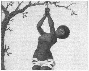Blake's anti-slavery engraving