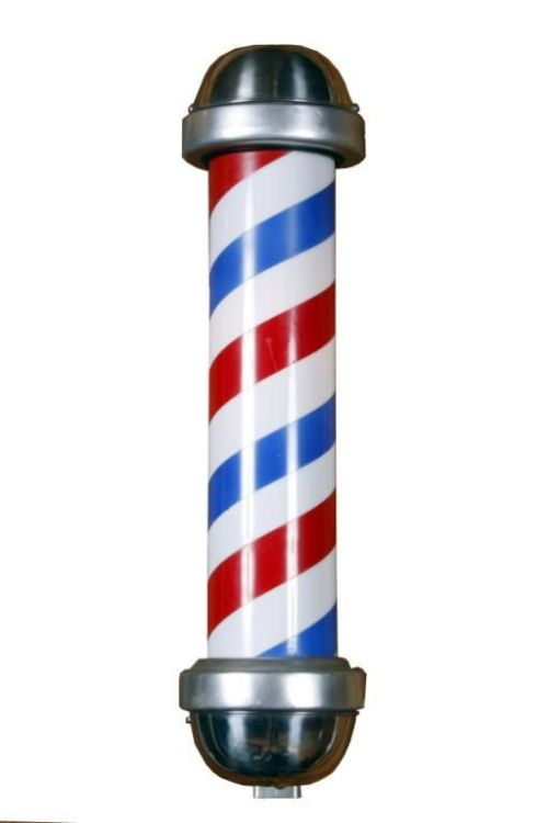 Barber's shop pole